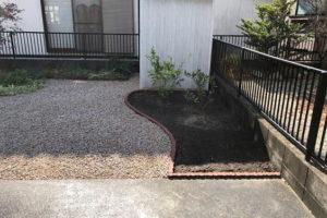 砂利敷き・防草